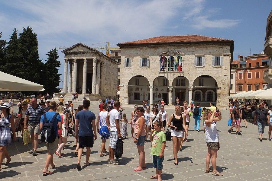 Pula ovog ljeta ostvarila nove turističke rekorde