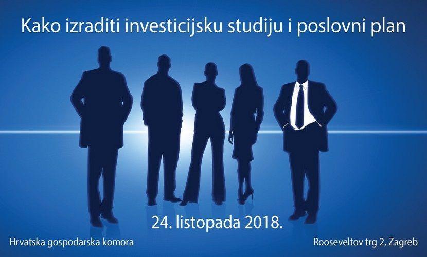 Prijavite se na seminar  Kako izraditi investicijsku studiju i poslovni plan