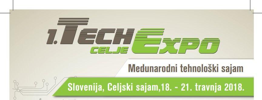 Poduzetnici, preuzmite besplatnu e-ulaznicu za 1. Tehnološki sajam TechExpo Celje