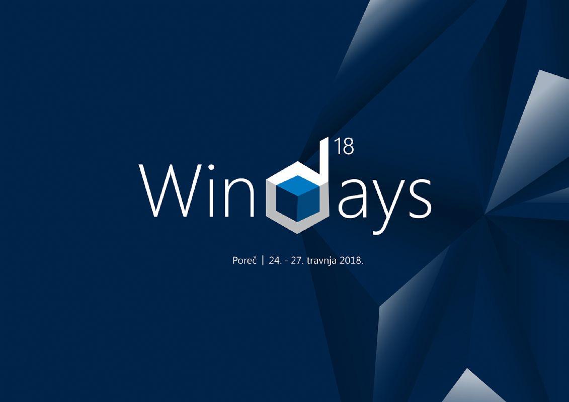 WinDays18 konferencija donosi više od 150 predavanja