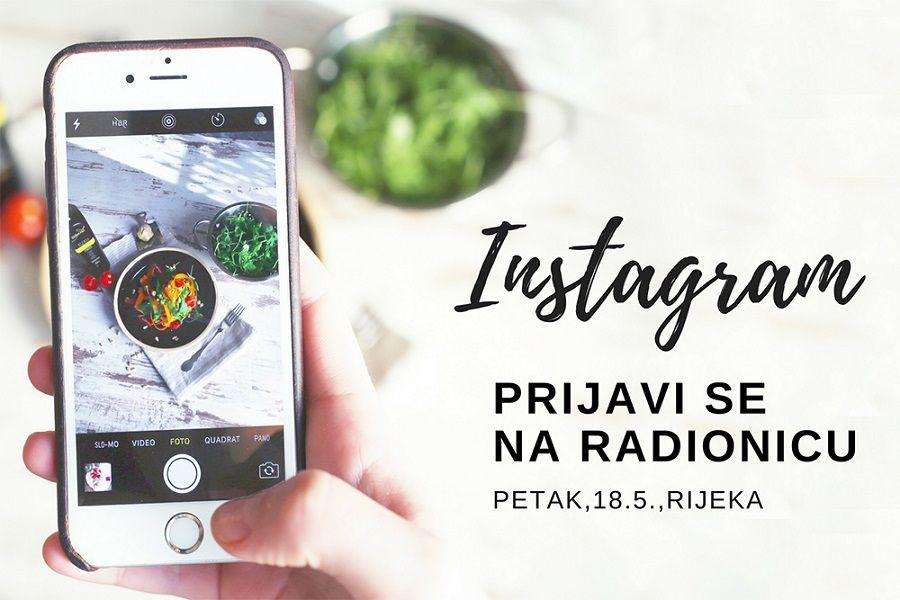 Instagram radionica: Kako pravilno koristiti jednu od najbrže rastućih društvenih mreža<br>