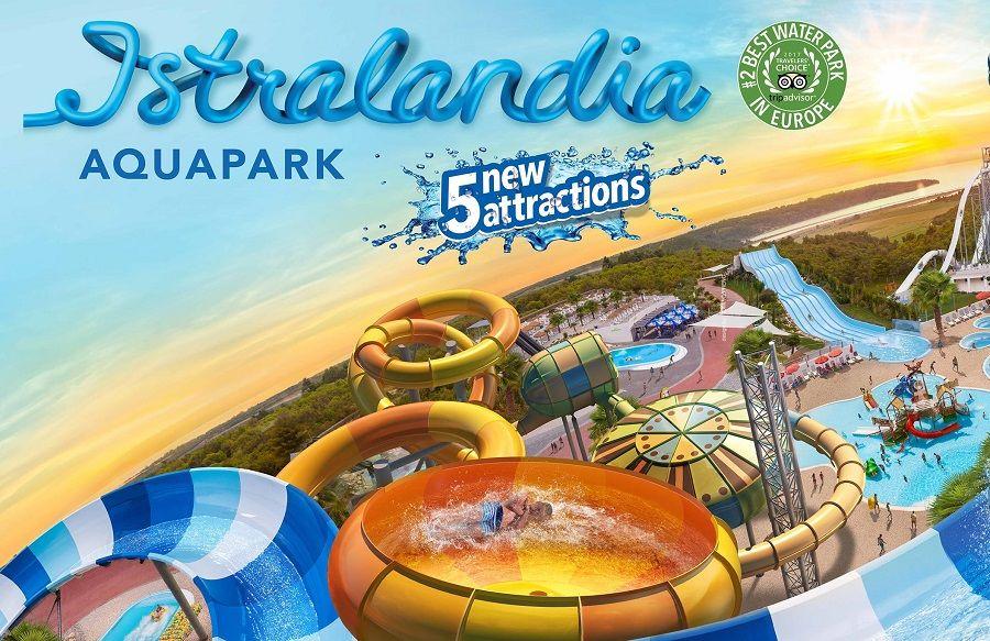Istralandia: najzabavniji vodeni park u Istri obogaćen je novim atrakcijama