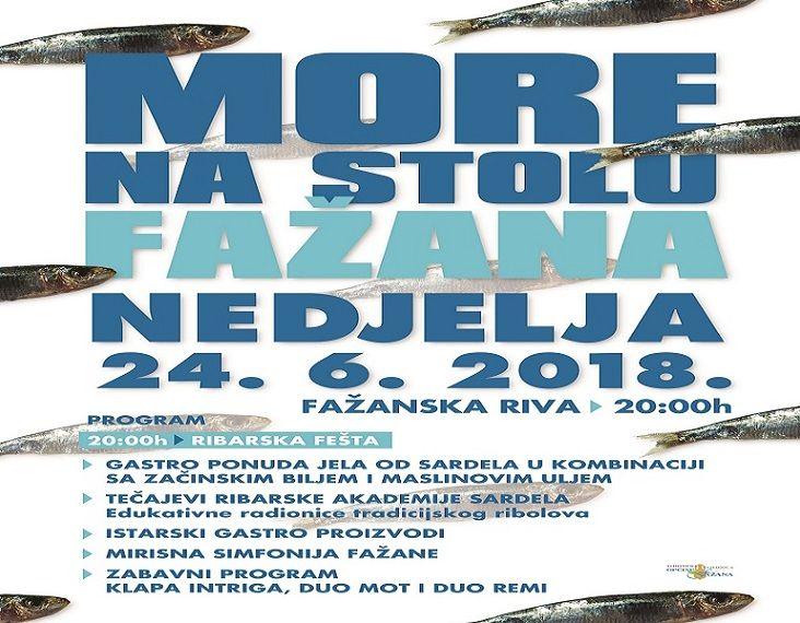 U nedjelju se održava manifestacija More na stolu