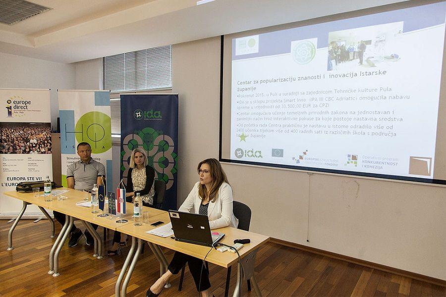 U Puli održan Dan otvorenih vrata poduzetničkih inkubatora IDA-e