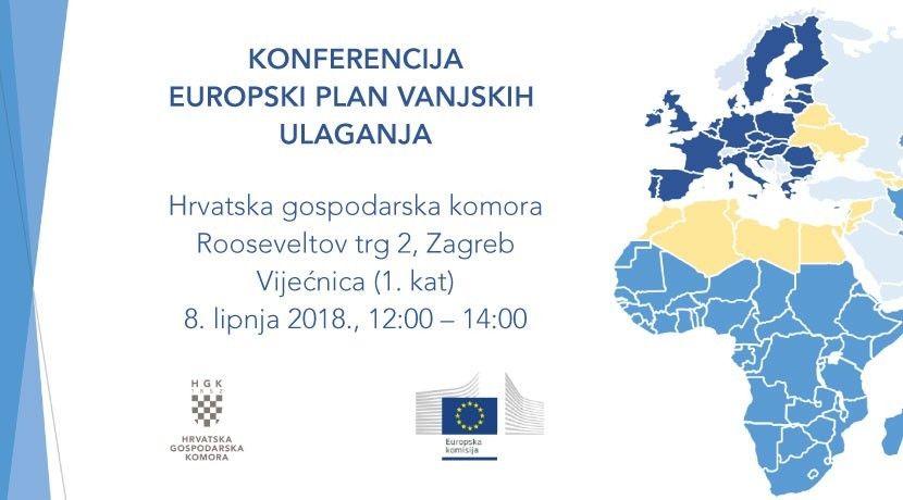 Konferencija Europski plan vanjskih ulaganja