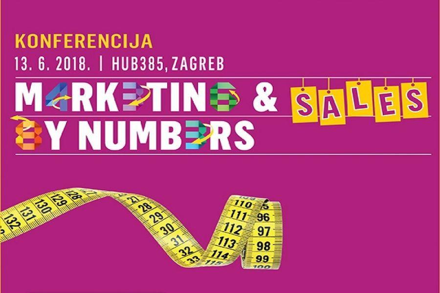 Prijavite se na konferenciju Marketing and Sales by Numbers!