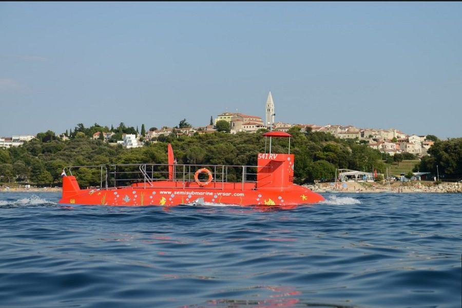 U Vrsaru vas čeka polupodmornica kojom možete istražiti podvodni svijet
