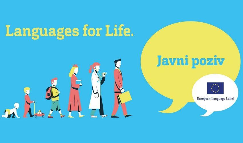 Javni poziv za iskazivanje interesa za dodjelu Europske oznake jezika 2019.