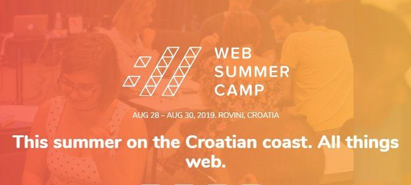 Još se stignete prijaviti na Web Summer Camp 2019. Rovinj<br>