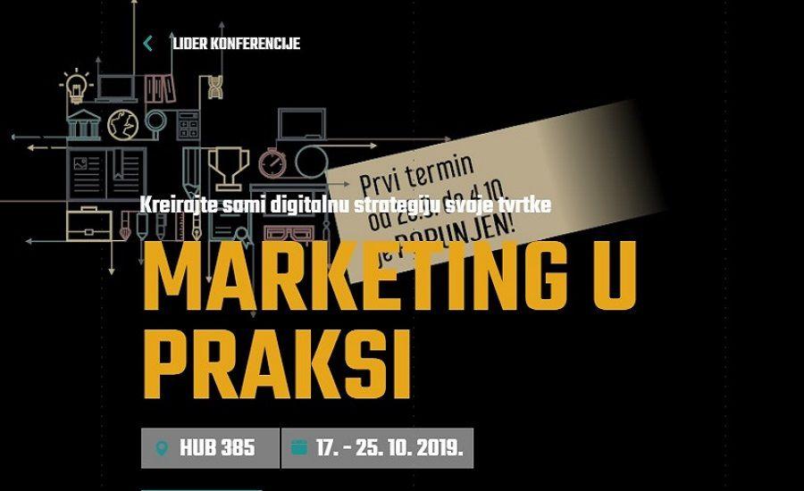 Marketing u praksi: Kreirajte sami digitalnu strategiju svoje tvrtke