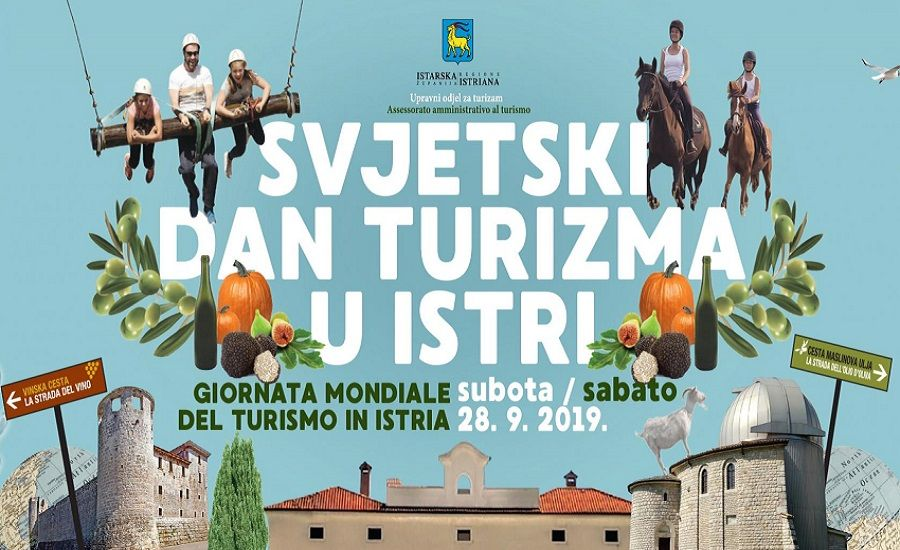 Obilježavanje Svjetskog dana turizma 2019. u Istri