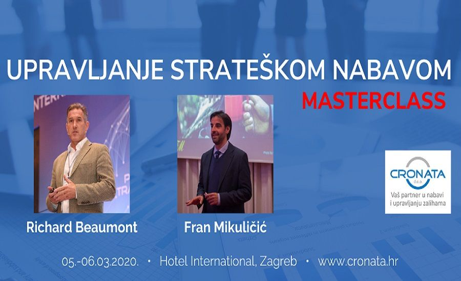 Masterclass: Upravljanje strateškom nabavom