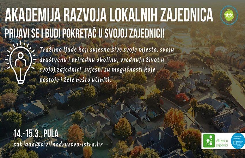 Prijavite se na Akademiju razvoja lokalnih zajednica i budite pokretač društvenih promjena!