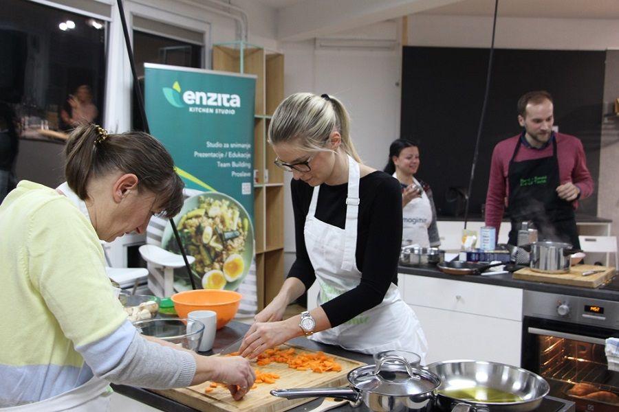 Mini radionica zdravog kuhanja u Enzita Kitchen Studiju