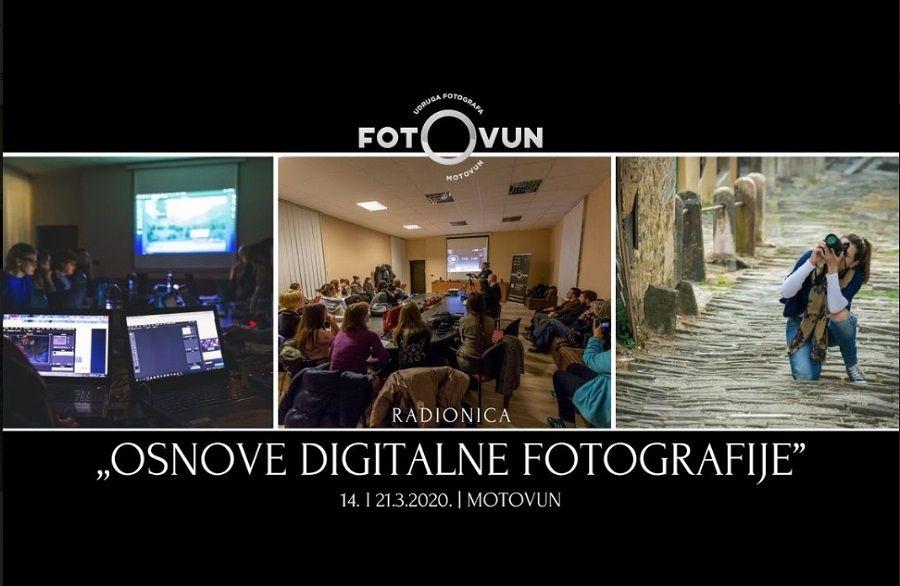 Zanimaju vas osnove digitalne fotografije? Ovo je radionica za vas!