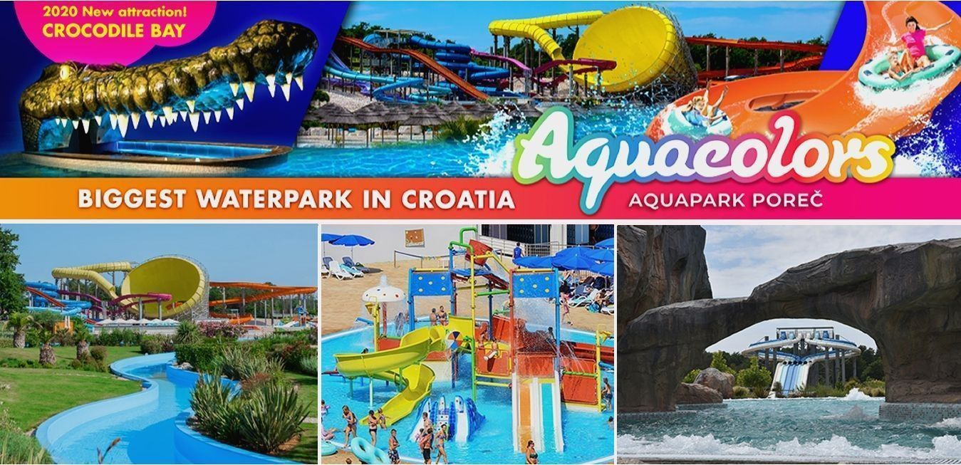 Veliko otvorenje Aquaparka Aquacolors Poreč 19.06.2020.