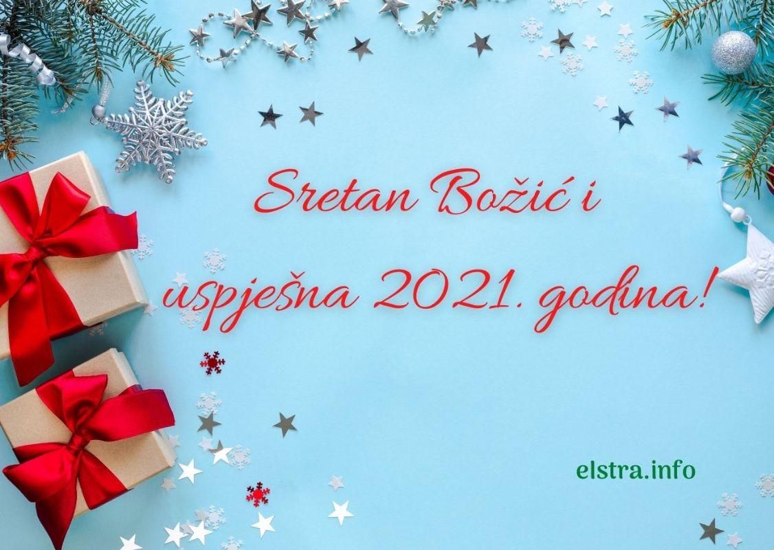 Sretan Božić i Nova 2021. godina
