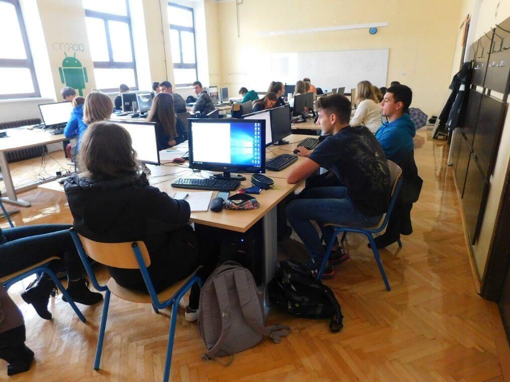 Pulski Gimnazijalci prezentirali svoje projekte i pokazali ogroman talent iz programiranja
