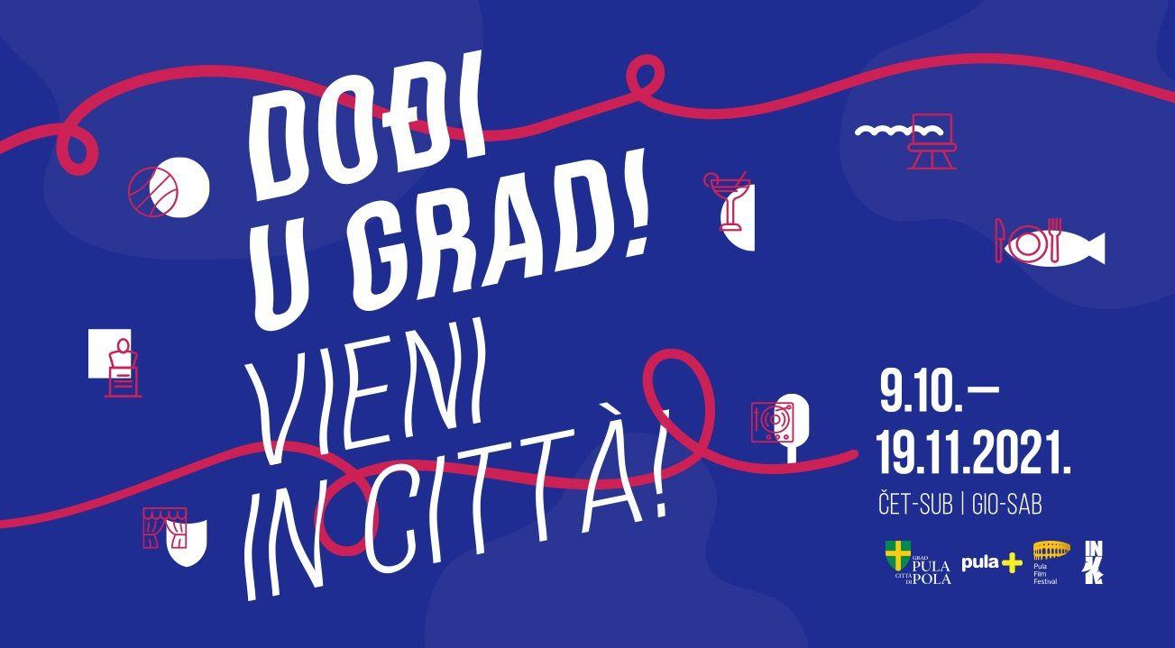 Dođi u grad! – Vieni in citta! – bogat trodnevni program u centru grada