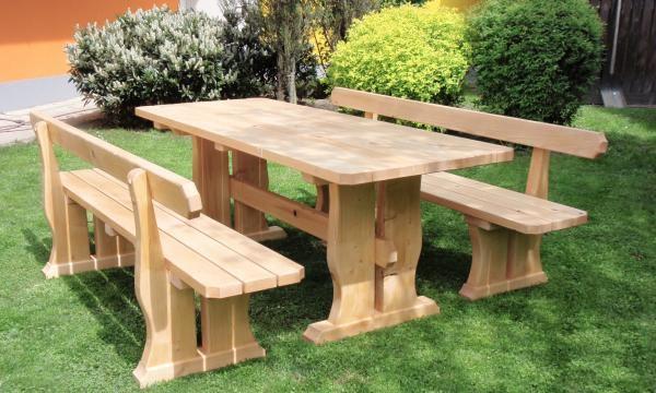 Trebam ponudu za drvenu vrtnu garnituru