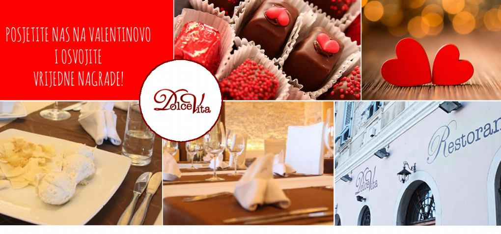 Valentinovo u restoranu Dolce Vita