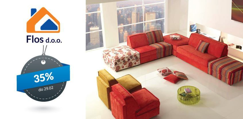 Kutne garniture i sofe - 35% popusta - FLOS