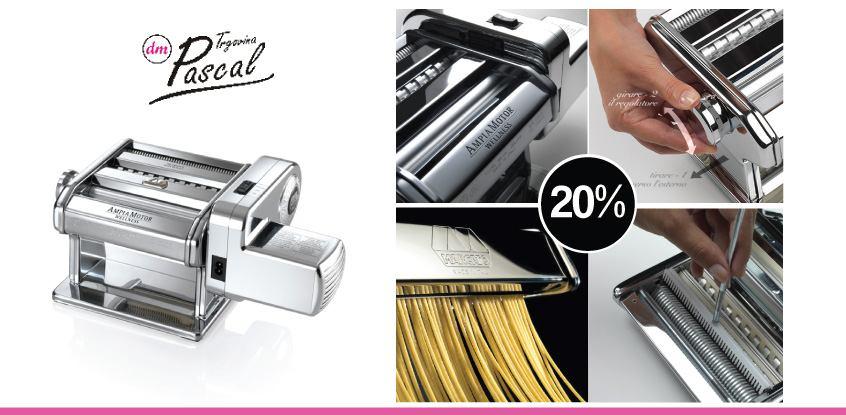 20% popusta za izradu tjestenine Ampia + motor 220V - PASCAL
