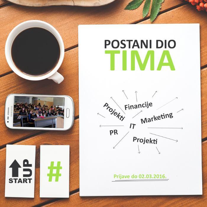 Start-Up udruga prima nove članove