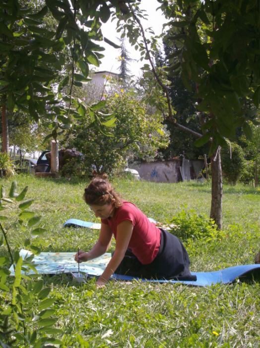 Radionice art terapije i intuitivnog slikanja u prirodi