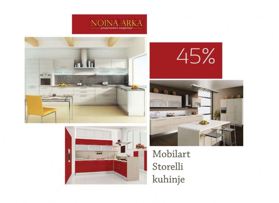 Salon namje�taja NOINA ARKA - Velika Bo�i�na akcija do 45% popusta