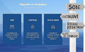 Natječaj za izbor najboljih hrvatskih privatnih iznajmljivača