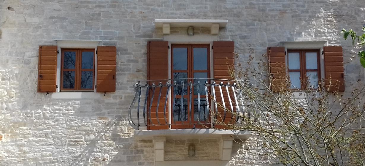 balkonska kovana ograda pazin