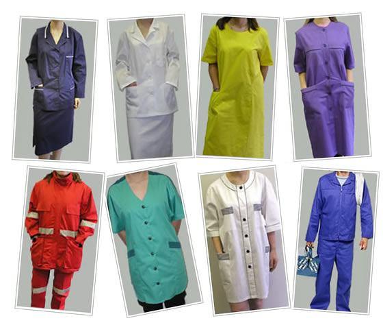 Radna odjeća, Pula, Textor