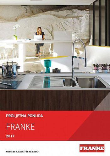 Franke proljetna ponuda 2017